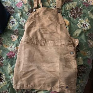 brand new roxy felt overall skirt